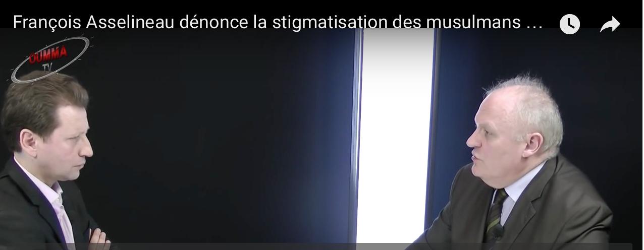 Asselineau ne veut pas que l'on parle du voile mais il veut créer l'Europe avec la Tunisie et le Maroc