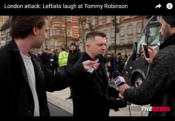 Demain, Tommy Robinson sera jugé pour  avoir dénoncé les auteurs de tournantes
