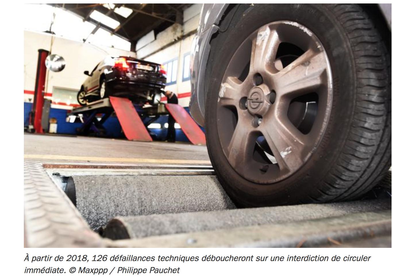Déclaration de guerre aux pauvres : nouveau contrôle technique, 126 raisons d'interdire votre vieille voiture