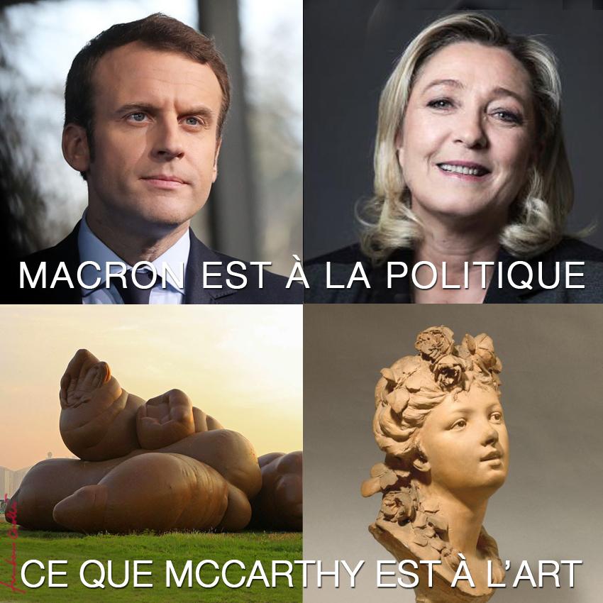 La discrimination positive, qui est dans le programme de Macron, marque le retour des orangs-outans