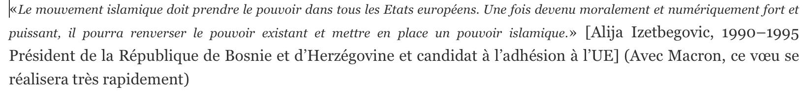 UOIF : Macron ne peut pas ignorer qui sont Nadeem Elyas, Sayyd Qotb,Hassan al-Banna…