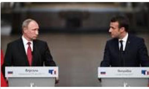 Tartarin-Macron la joue gros bras devant Poutine mais se tait sur les droits de l'homme en Arabie