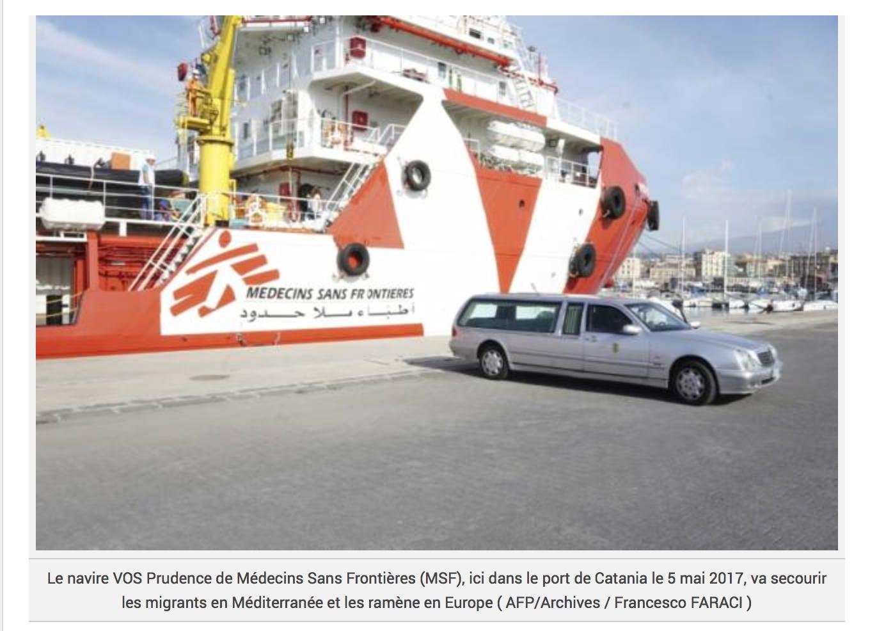 «On s'est barricadés»: le désarroi d'un capitaine face aux migrants