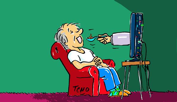 Éteignons la télé…