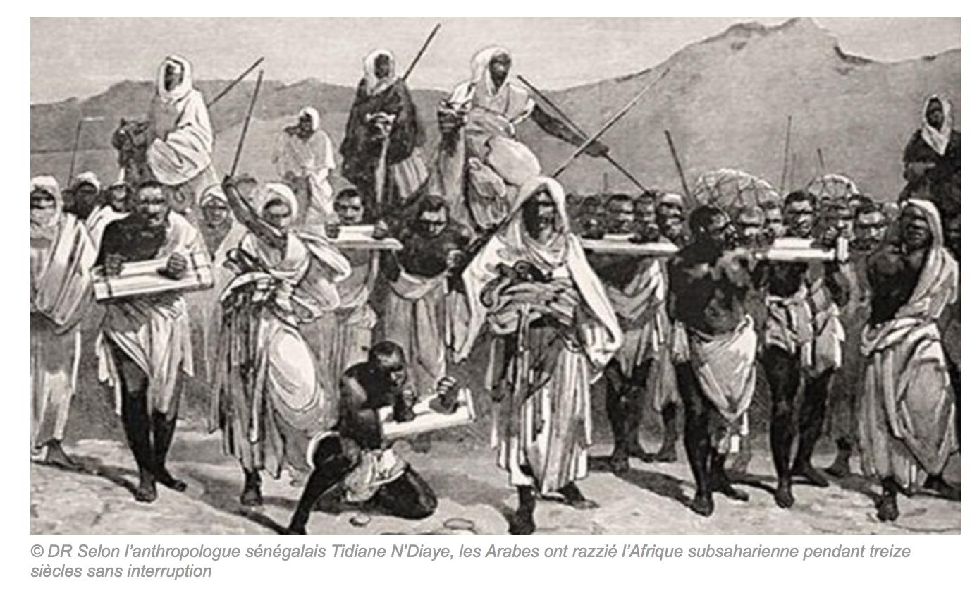 Tous les peuples humains ont pratiqué l'esclavage… et ce sont les méchants Blancs qui l'ont aboli