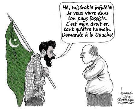 Pierre Cassen : le fascisme ne passera pas, mort aux islamophobes !  (video)