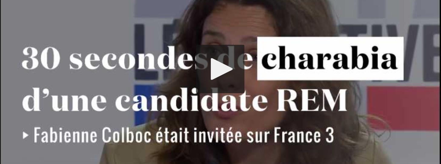 Le désastre Fabienne Colboc à Chinon : regardez qui Macron veut envoyer à l'Assemblée vous représenter