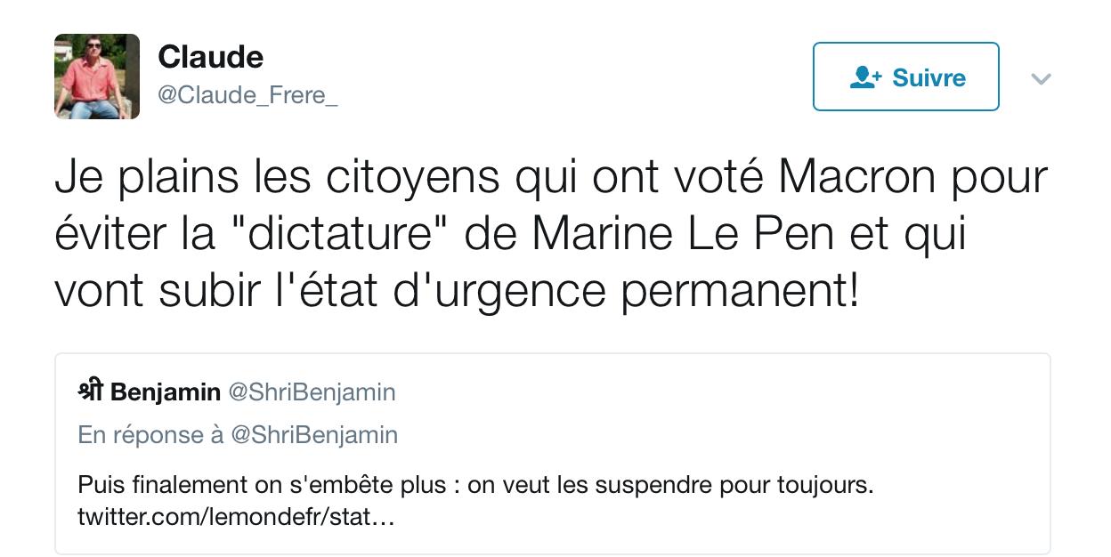 Macron veut faire entrer l'état d'urgence dans le droit commun : la dictature sera votée en novembre [MAJ]