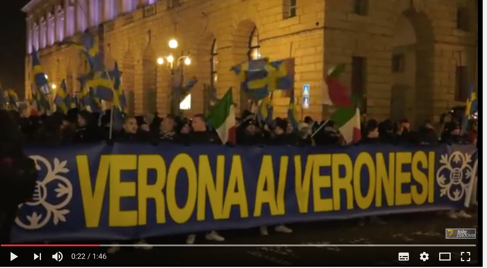 «L'Italie aux Italiens ! «