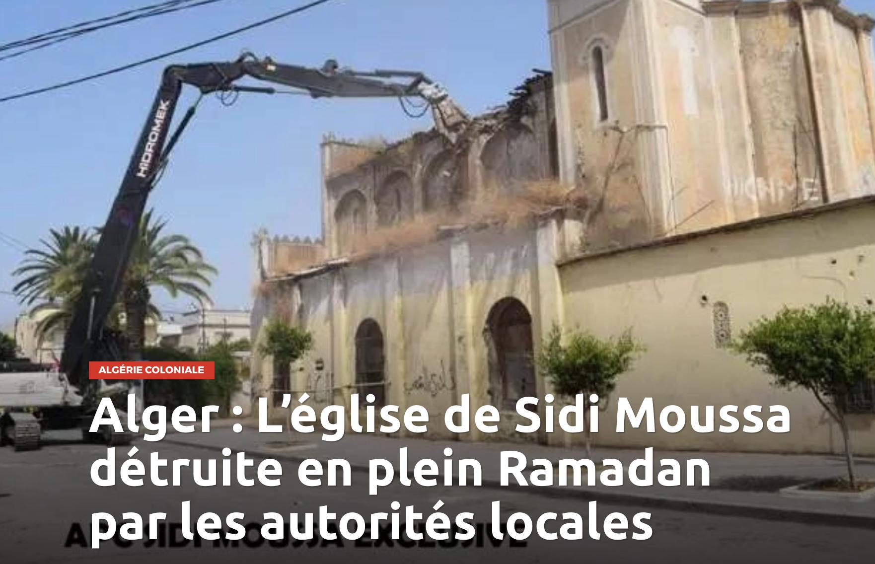 Des églises sans clocher pour plaire aux musulmans ? Et puis sans croix, sans processions….