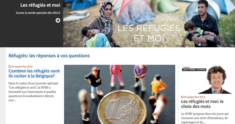 Hallucinante oeuvre de propagande pro-migrants sur le service public belge avec l'aide de l'AFP