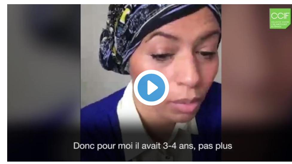 Video choc du CCIF qui ose accuser un gosse de 4 ans de racisme et d'incitation à la violence !