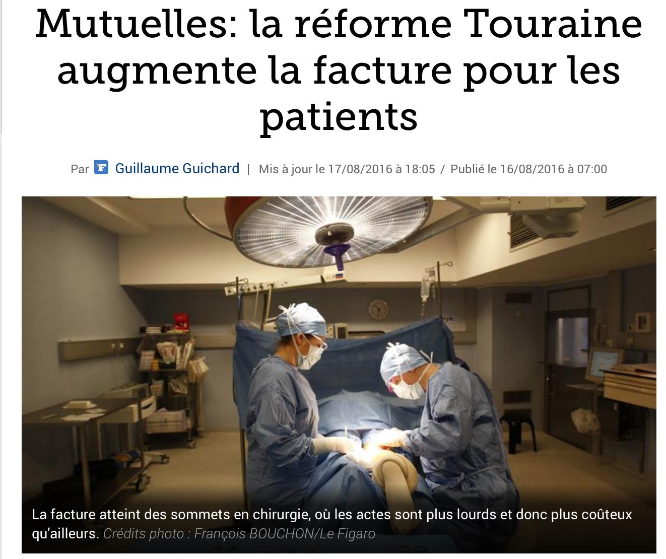 Une des énormes saloperies de Touraine : les mutuelles d'entreprise obligatoires