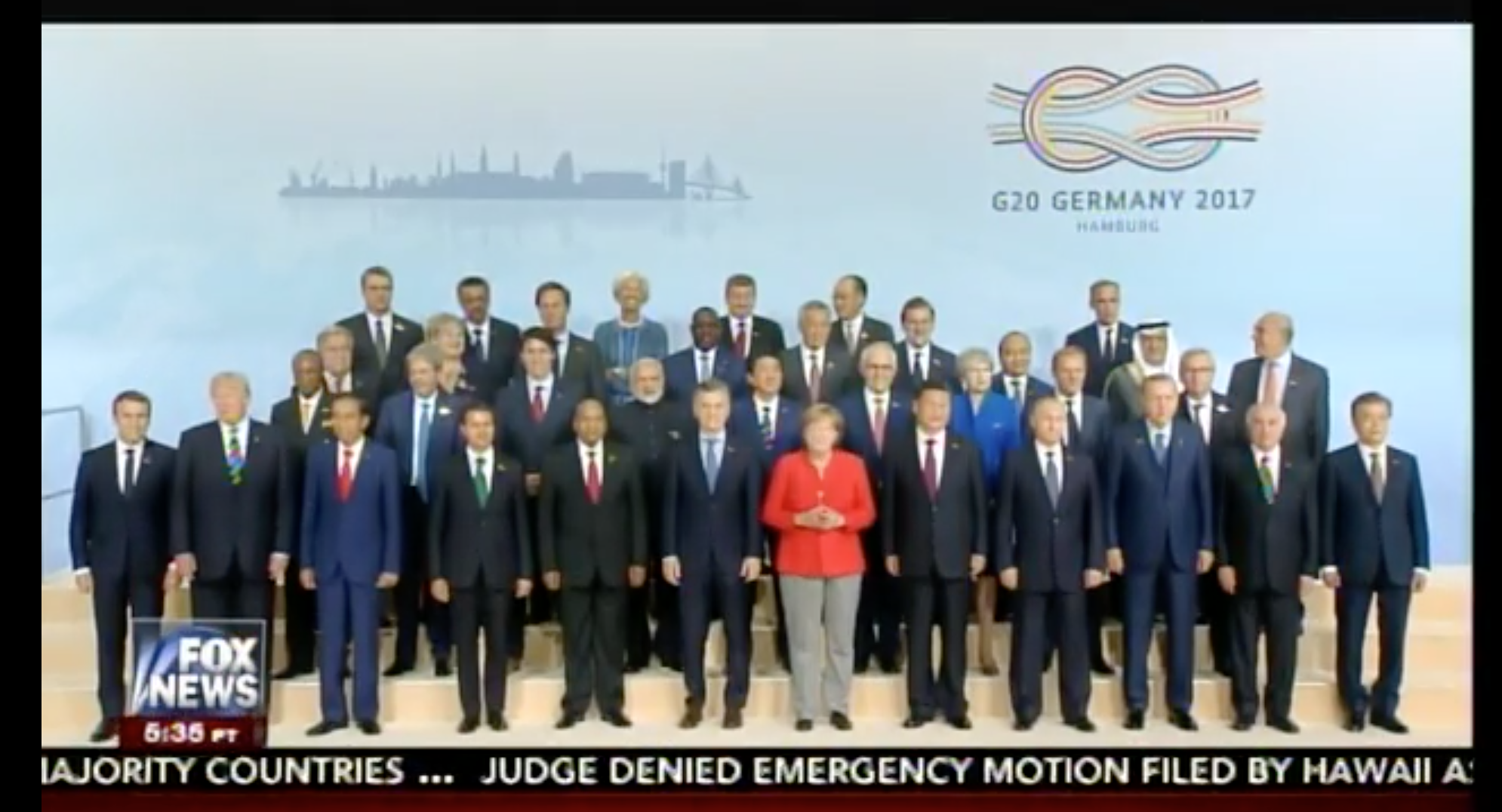 Les manoeuvres de Macron pour être sur la photo du G20 à côté de Trump font mourir de rire les Américains