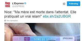 Manipulations médiatiques : «A Nice, la première victime était musulmane»