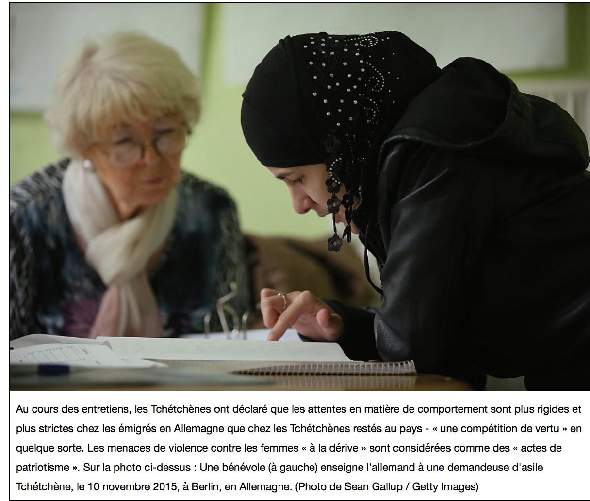 Allemagne : la police de la charia tchétchène terrorise Berlin