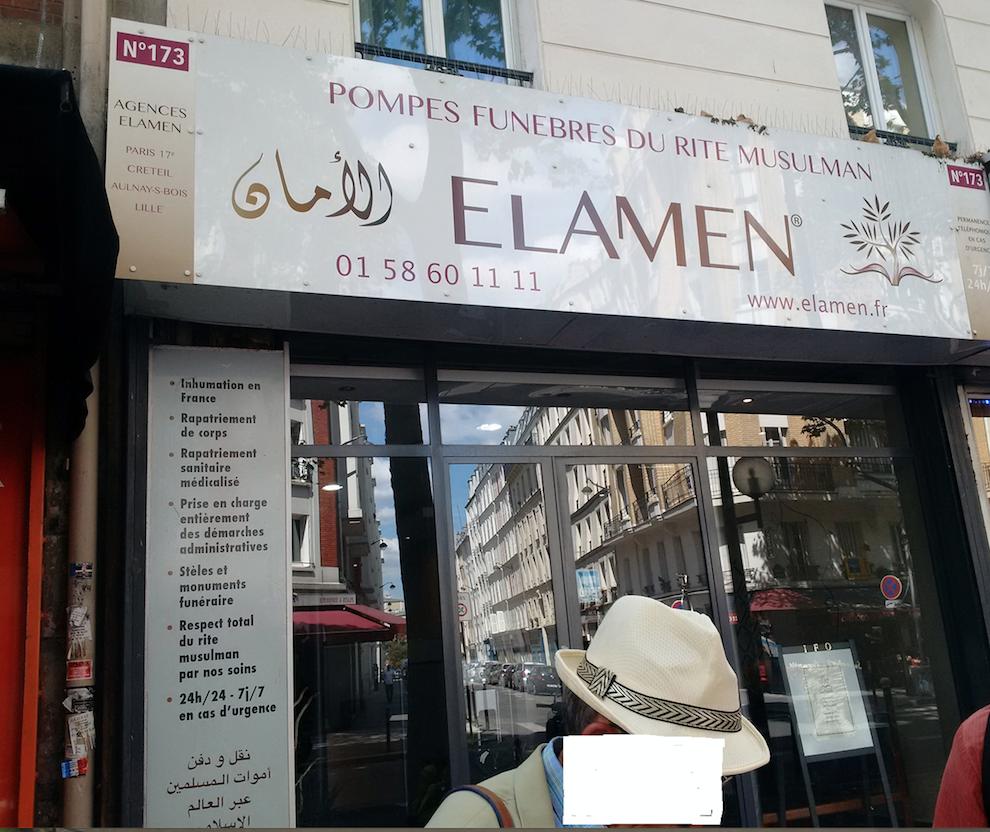 J'ai reçu une gifle magistrale aujourd'hui à Paris-Bab El Oued