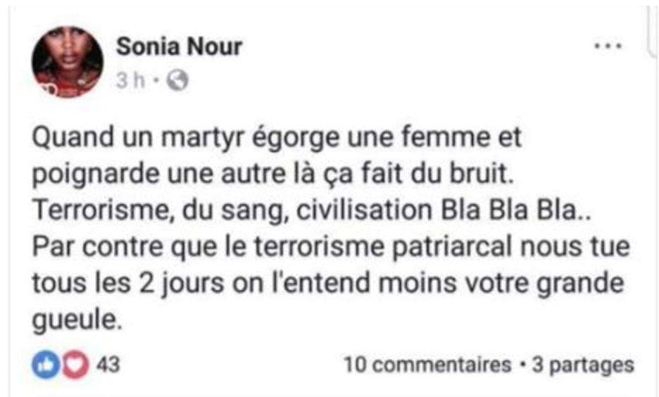 Marseille : signalez Sonia Nour (Mairie de La Courneuve) : en voie de radicalisation, elle est dangereuse