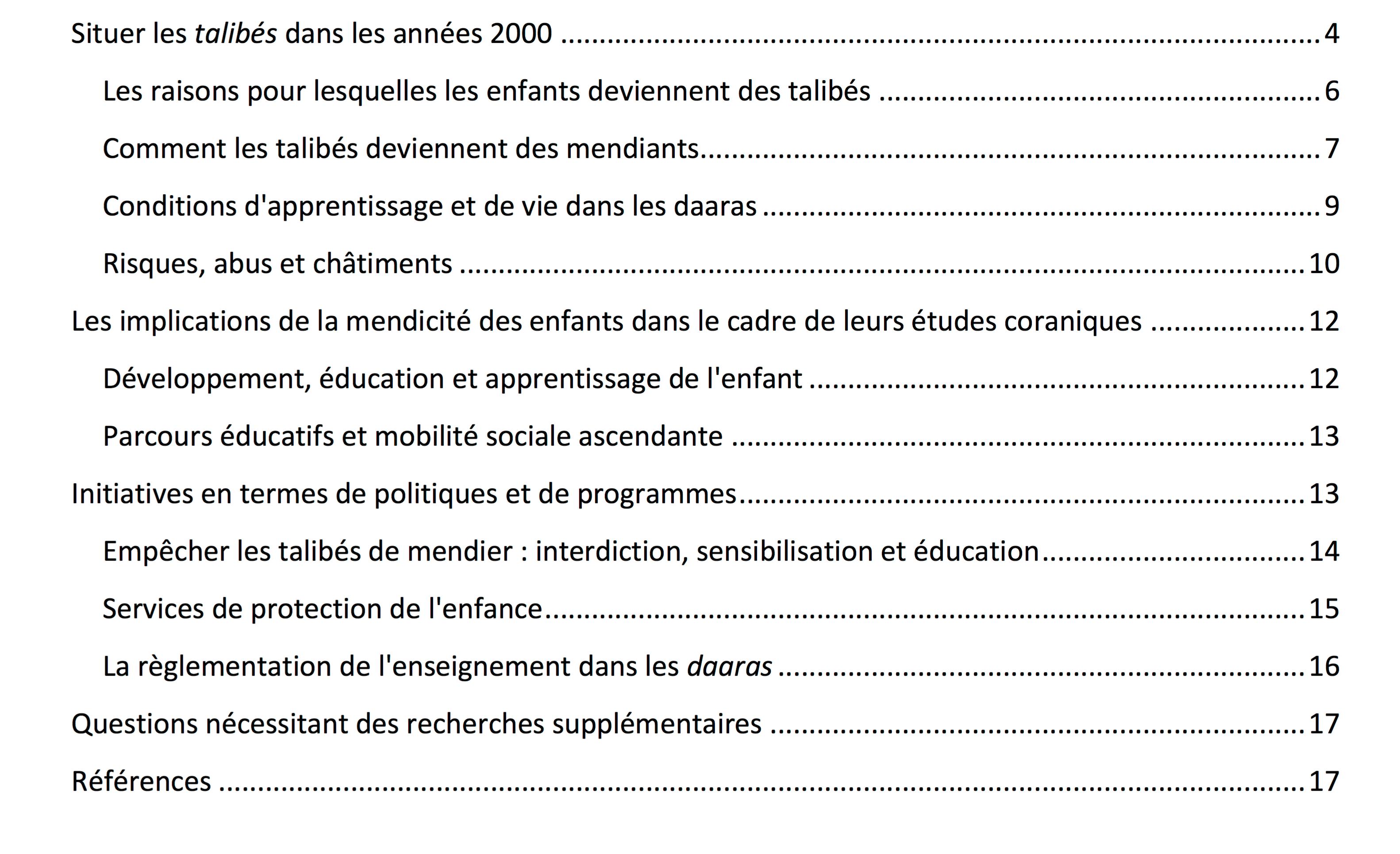 Ho,  Macron, CCIF, Licra, LDH…  les enfants des écoles coraniques obligés de mendier, pas de souci ?