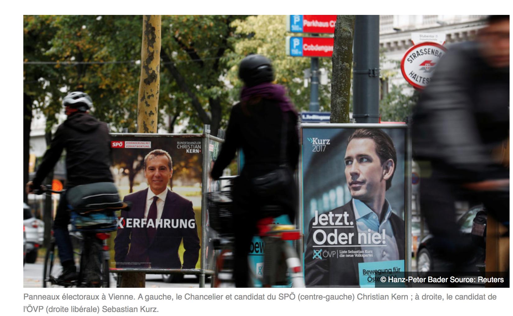 Elections en Autriche,  la gauche fabrique de fausses pages facebook pour discréditer son adversaire