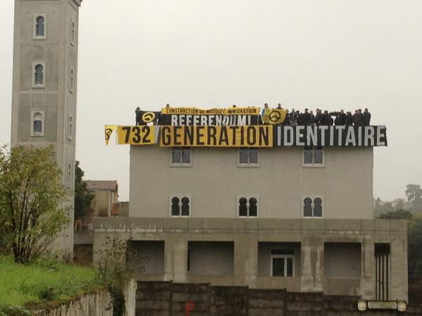 Mosquée de Poitiers, les Identitaires ne seront ni jugés ni condamnés pour provocation à la haine !