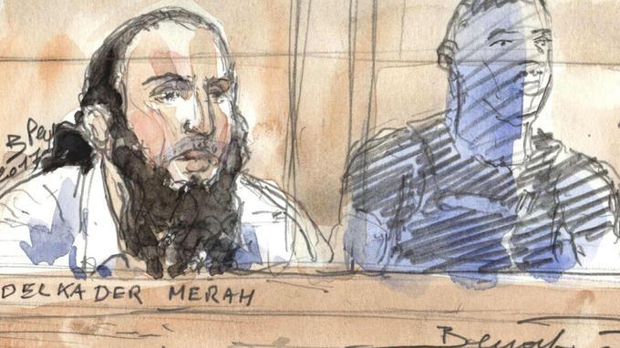 Le frère de Mohamed Merah se présente avec l'apparence d'un djihadiste à son procès, ça ne dérange personne ?