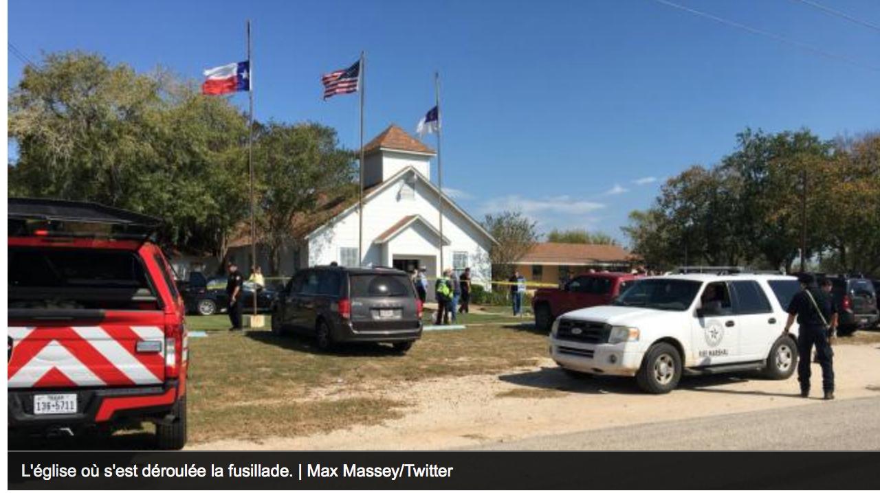 Etats-Unis : 4% de la population de Sutherland Springs assassinés dans l'église baptiste