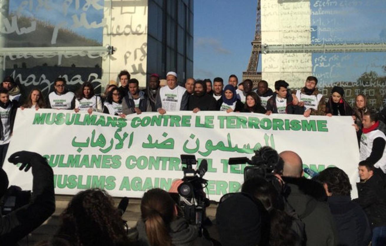 Congrès UOIF: 20.000 personnes ; marche des musulmans contre le terrorisme : 25