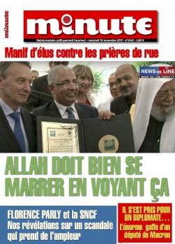 Clichy : le Maire Rémi Muzeau accepterait volontiers 5 ou 6 mosquées dans sa ville