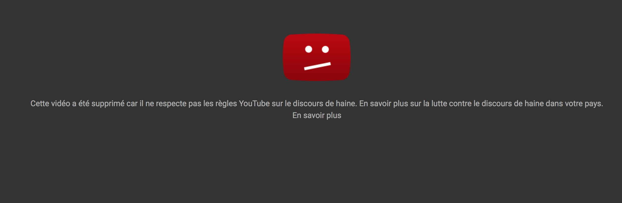Youtube supprime la video montrant une femme de 73 ans tabassée par un migrant (MAJ : vidéo retrouvée sur un site alternatif).