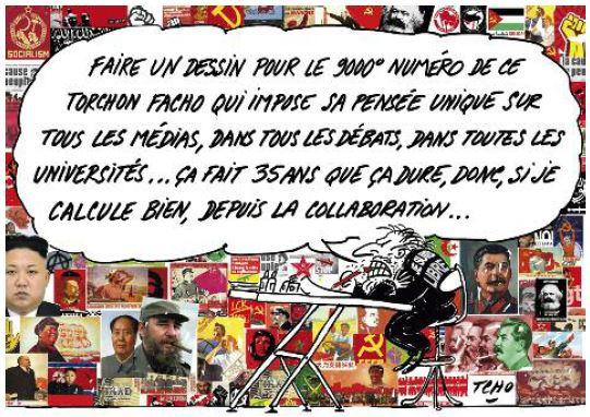 Hommage des amoureux de la France au quotidien Présent