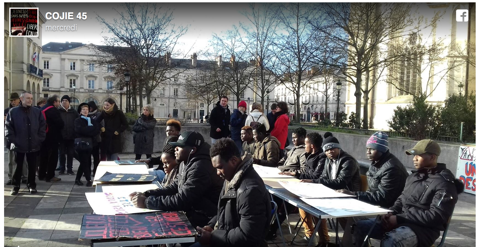 Orléans : les faux mineurs étrangers manifestent pour être scolarisés !