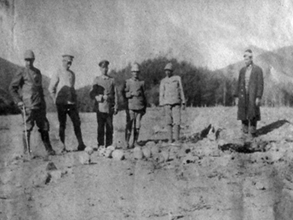 Une des sources peu connues de la Shoah : la  présence de conseillers allemands lors du génocide des Arméniens par les Turcs …