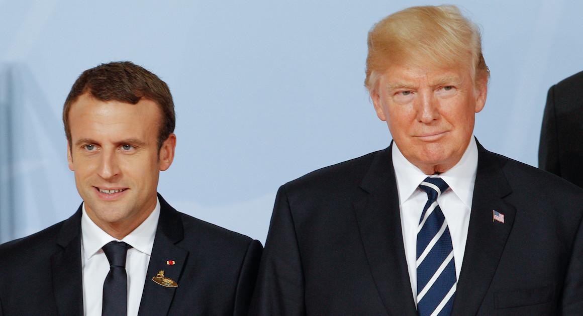 Cop21 : petit coq Macron menace Trump et Bolsonaro qui doivent mourir de rire !