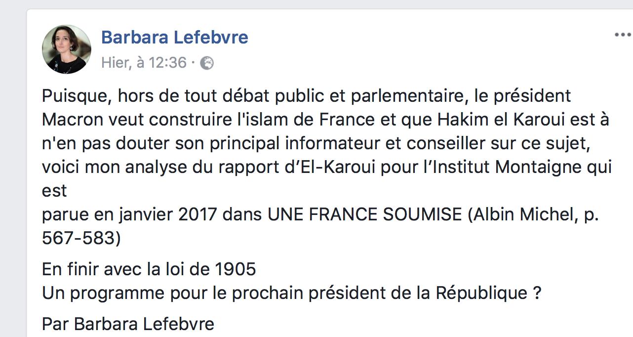 Les 9 terrifiantes propositions de Hakim El Karoui, conseiller de Macron, pour «l'islam de France «