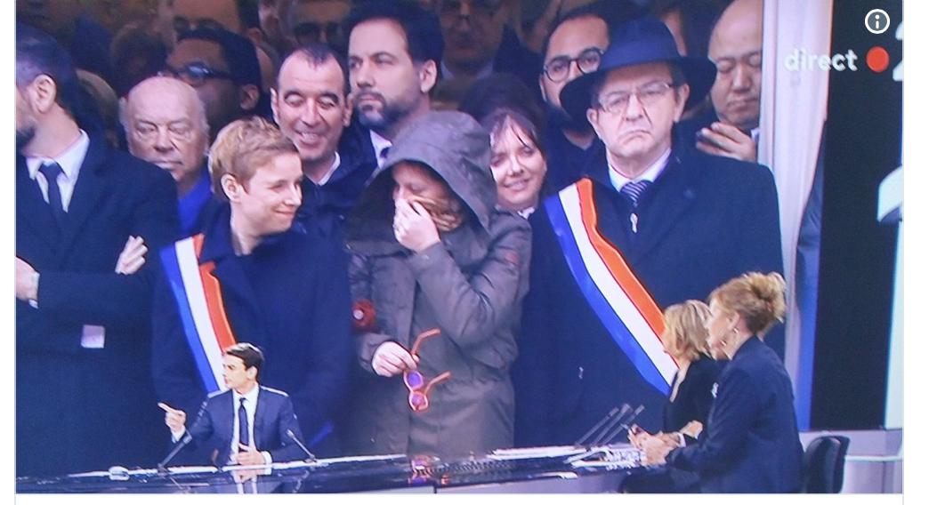 Autain, Bergé, Castaner… se sont marrés comme des bossus pendant l'hommage national à Arnaud Beltrame