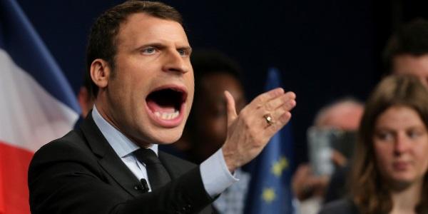 Emanu-militari… Grosse colère de Macron face aux euro-députés