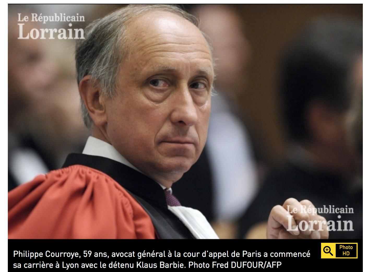Le procureur Courroye : ma tête a été demandée par les medias à Hollande, j'ai été muté…