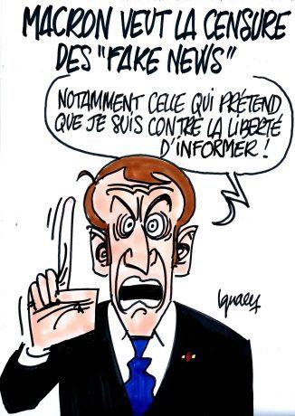 Un media refuse de laisser ré-écrire ses articles par les conseillers de Macron ? Privé d'interviews !