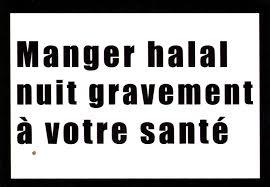Quand «le Figaro» nous enfume en assimilant  bio et halal …