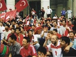 Les fascistes turcs, «les Loups Gris»  défilent en Belgique