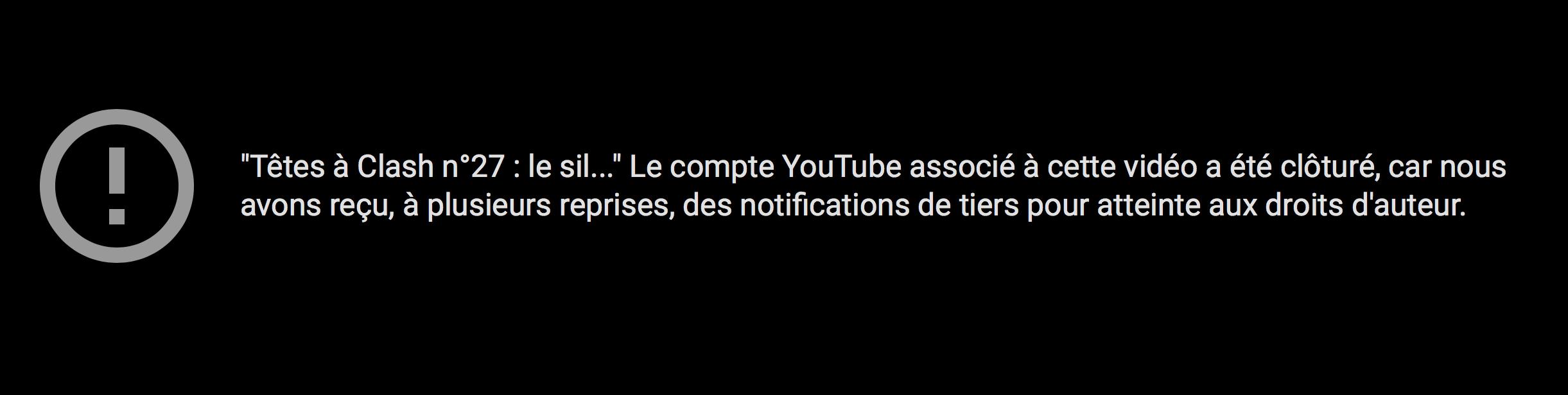 Youtube a fermé la chaîne de TV libertés !