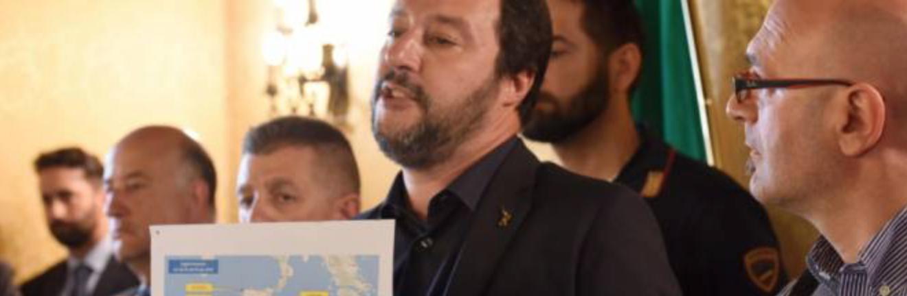 Salvini : quelque chose change, nous ne sommes plus le paillasson de l'Europe