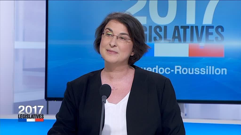 Muriel Ressiguier, député insoumis de l'Hérault, terrorisée par «l'extrême-droite»…