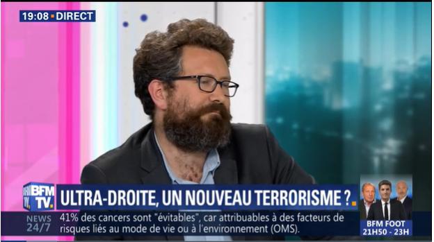 BFM-TV : le coup de pied de l'âne de Nicolas Gardères contre « l'ultra-droite » !