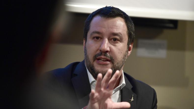 Salvini expulse les terroristes, nous on les garde !