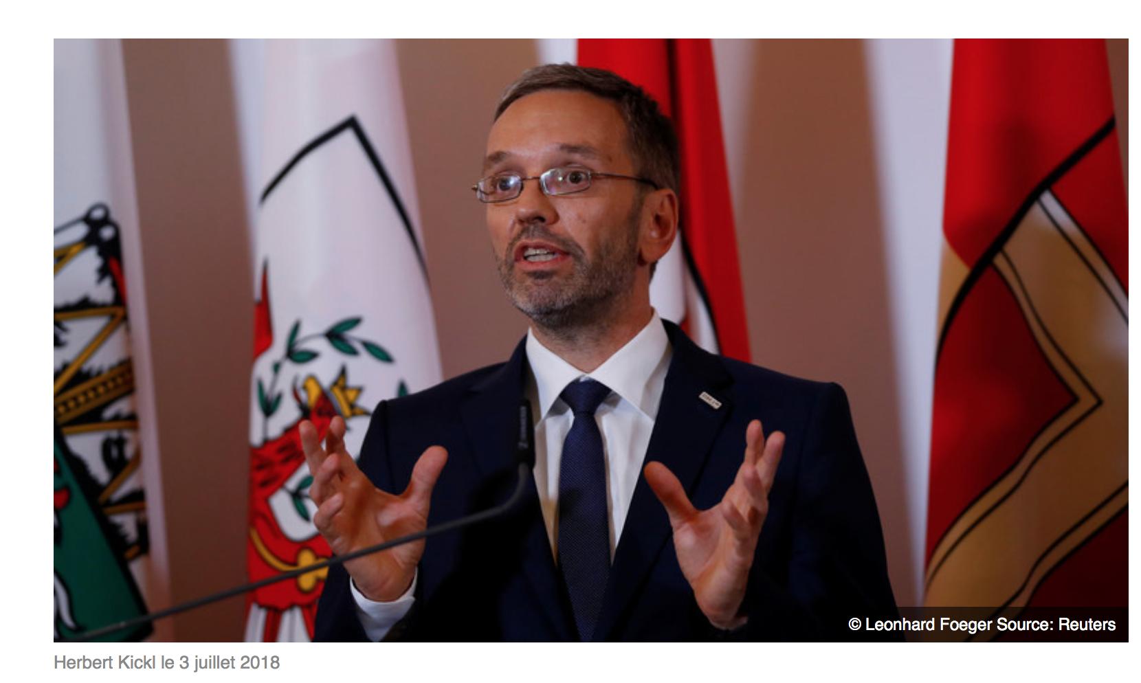 Autriche, coup de tonnerre migratoire : impossible de demander l'asile depuis le continent européen ?