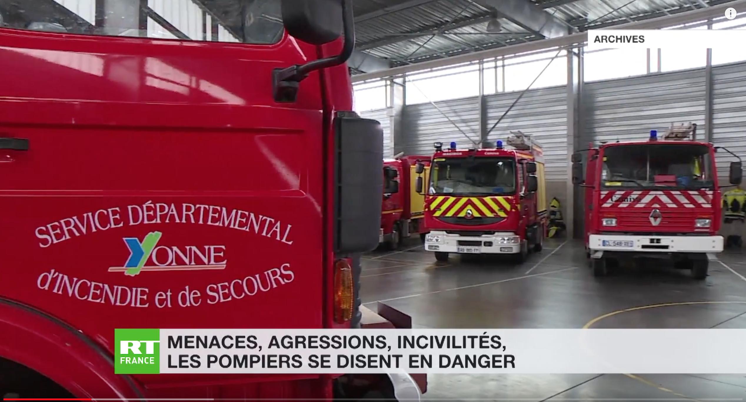 Pour le pompier syndicaliste Frédéric Monchy, si les pompiers sont agressés, c'est la faute à l'Etat