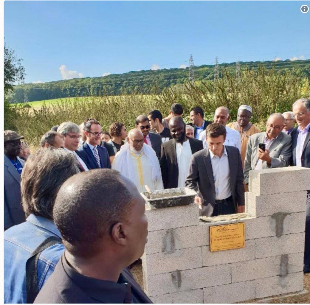 Aurélien Taché ( LREM ) veut des mosquées pour tous les Français