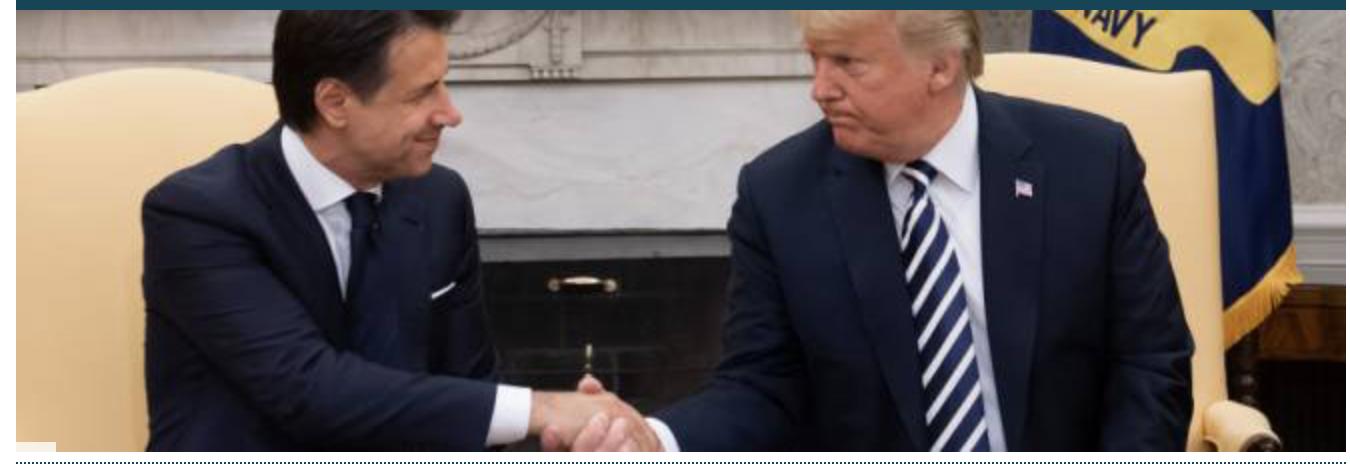 Menacé par Bruxelles, le gouvernement italien reçoit le soutien de Trump